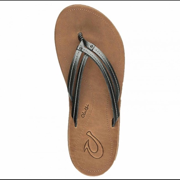 OluKai Shoes - OLUKAI Women's U'i Sandals Flip Flops Sz 7